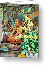 Pagoda Altar Greeting Card