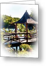 Pagoda Over The Lake Greeting Card