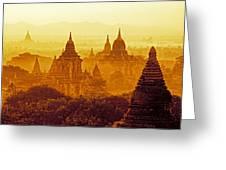 Pagodas Greeting Card