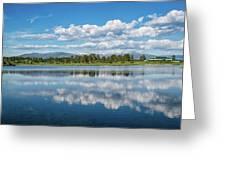 Pagosa Summer Reflections Greeting Card by Jason Coward