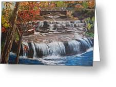 Paine Falls Greeting Card
