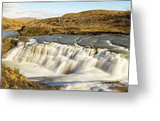 Paine River Waterfall Greeting Card