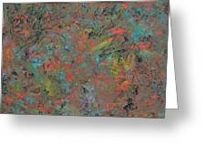 Paint Number 17 Greeting Card