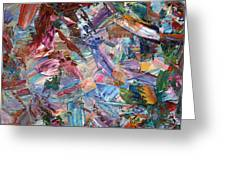 Paint Number 42-b Greeting Card by James W Johnson