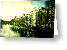 Painted Amsterdam Greeting Card