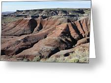 Painted Desert - 1 Greeting Card