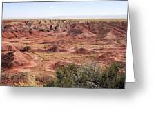 Painted Desert 0249 Greeting Card