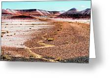 Painted Desert 0319 Greeting Card