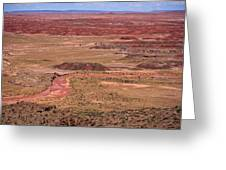 Painted Desert #3 Greeting Card