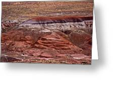 Painted Desert #7 Greeting Card