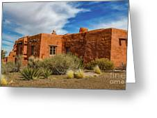 Painted Desert Inn Greeting Card