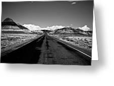 Painted Desert Road #2 Greeting Card