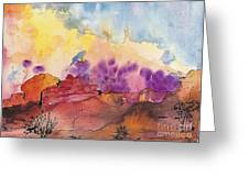 Painted Desert Greeting Card