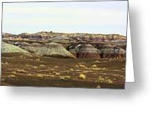 Painted Desert Winter 0576 Greeting Card