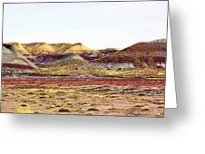 Painted Desert Winter 0602 Greeting Card