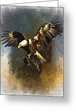 Painted Eagle Greeting Card