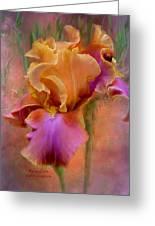 Painted Goddess - Iris Greeting Card