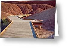 Painted Hills Boardwalk Greeting Card