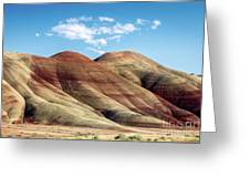 Painted Hills Colors Greeting Card