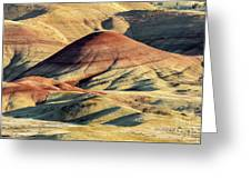 Painted Hills, Oregon Greeting Card