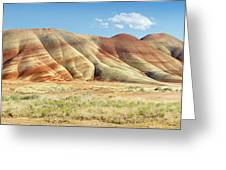 Painted Hills Pano 1 Greeting Card