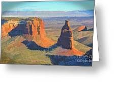 Painted Mesa Greeting Card