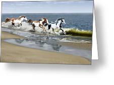 Painted Ocean Greeting Card