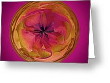 Painted Orb Greeting Card