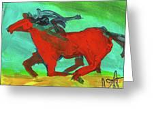 Painted Ponies - Spirit Rider Greeting Card