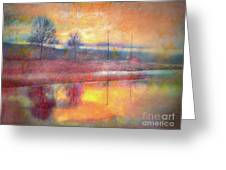 Painted Reflections Greeting Card