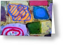 Painted Rocks Greeting Card