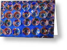 Painted Shot Glasses Greeting Card