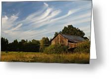Painted Sky Barn Greeting Card