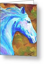Painted Stallion Greeting Card