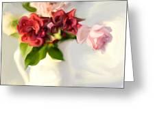Painted Teas Greeting Card