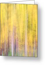 Painted Trees IIi Greeting Card