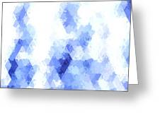 Painterly Geometric Abstract Greeting Card