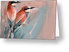 Painting 662 2 Bird 9 Greeting Card