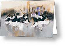 Painting 785 3 Attan Greeting Card