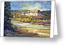 Painting In New Mexico Greeting Card