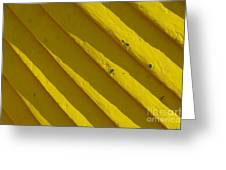 Painting It Yellow Greeting Card