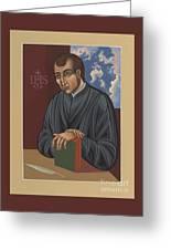 Painting Of Fr Balthasar Gracian Sj 180 Greeting Card