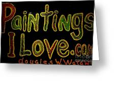 Paintings I Love.com 4 Greeting Card