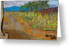 Paisaje - Chile - Campo 1 Greeting Card