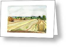 Paizay-le-tort, Au Sud Des Deux-sevres Greeting Card