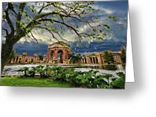 Palace Of Fine Art Greeting Card