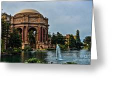 Palace Of Fine Arts -1 Greeting Card