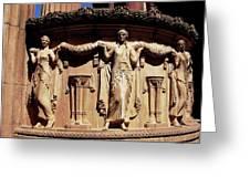 Palace Of Fine Arts Maidens Three Greeting Card