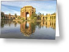 Palace Of Fine Arts - San Francisco Greeting Card