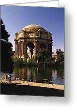 Palace Of Fine Arts Sf Greeting Card